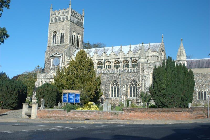 St Marys Kerk Ipswich royalty-vrije stock afbeeldingen