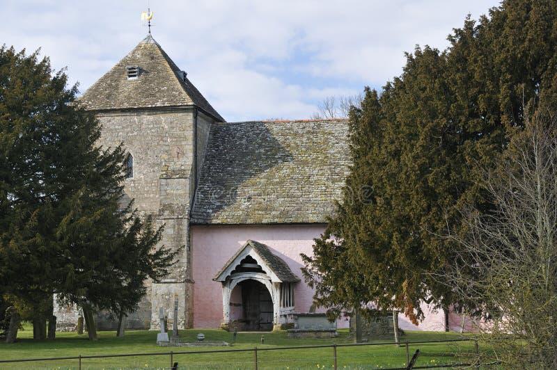 St Marys Norman Church royaltyfria bilder