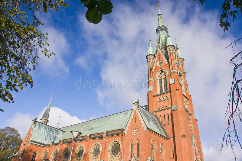 St Matteus church, Norrkoping royalty free stock photos