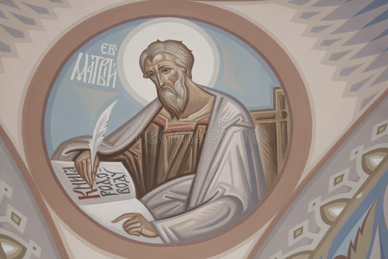 St Matthew l'evangelista immagine stock