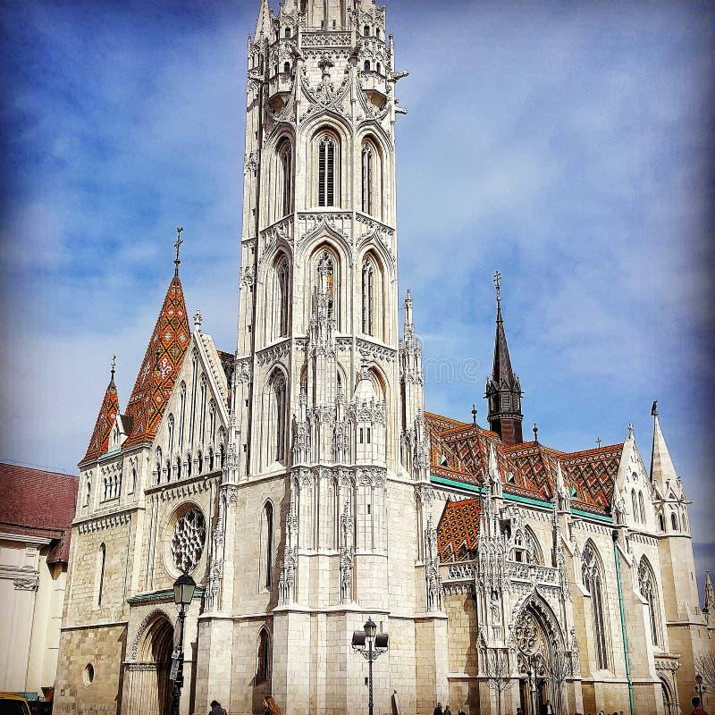 ST Mattias Church στοκ εικόνες