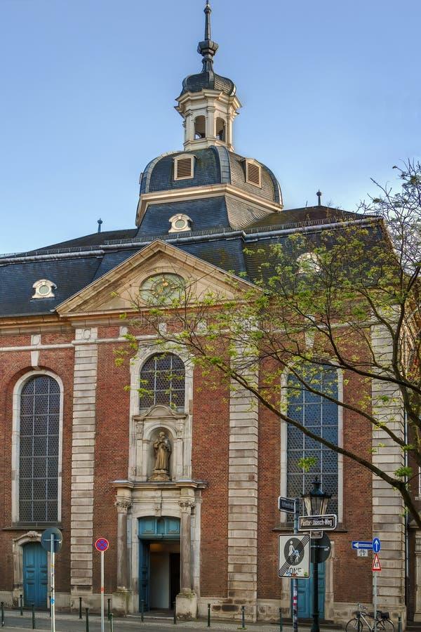 St Maximilian Church, Düsseldorf, Alemania imagenes de archivo
