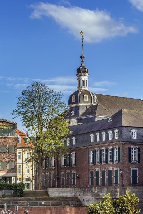 St Maximilian Church, Düsseldorf, Alemania fotos de archivo libres de regalías