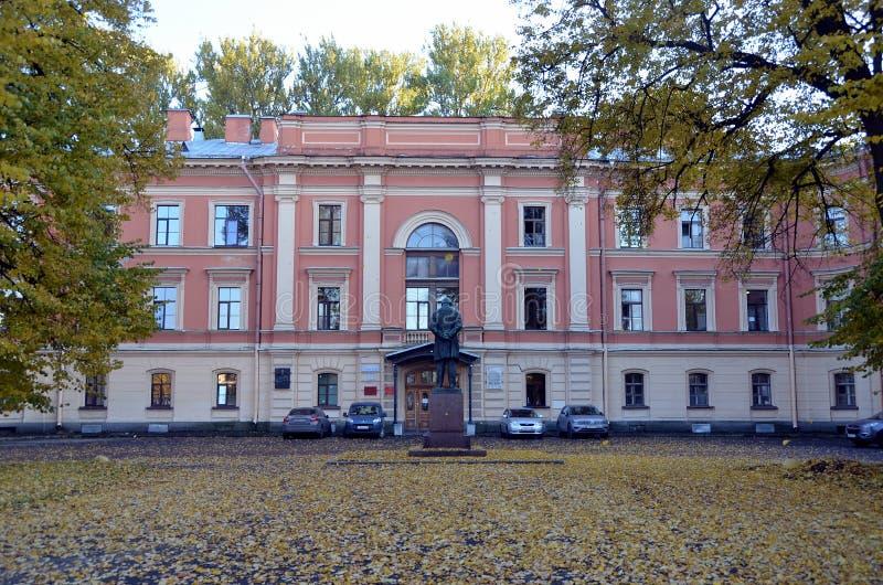 St medica militare dell'accademia a Pietroburgo immagine stock libera da diritti