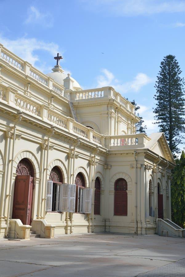 St merkt Kathedraal, Bengaluru (Bangalore) stock foto