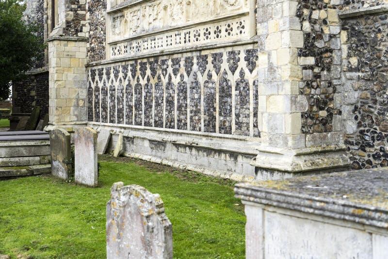 St Michael приходская церковь Архангела, Beccles, суффольк, Englan стоковые изображения rf