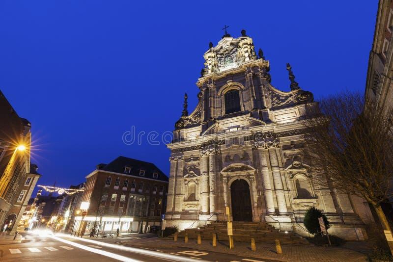 St Michael & x27; церковь s в лёвене стоковое изображение