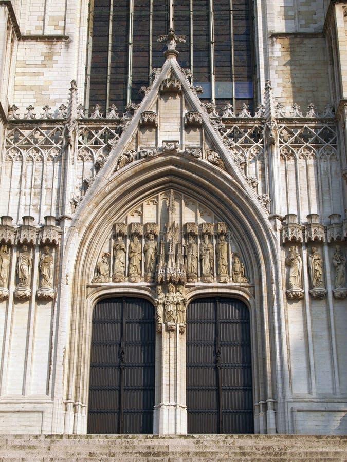St Michael Catherdral arkivbild