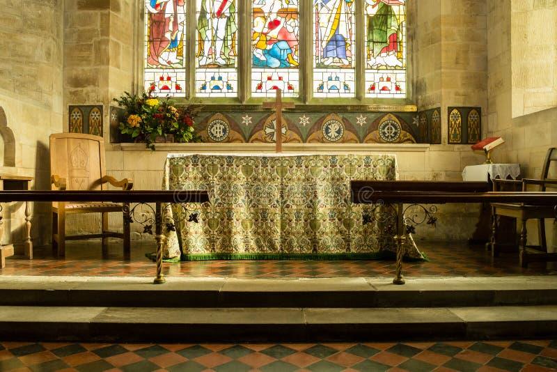 St Michael Church Altar fotografia stock