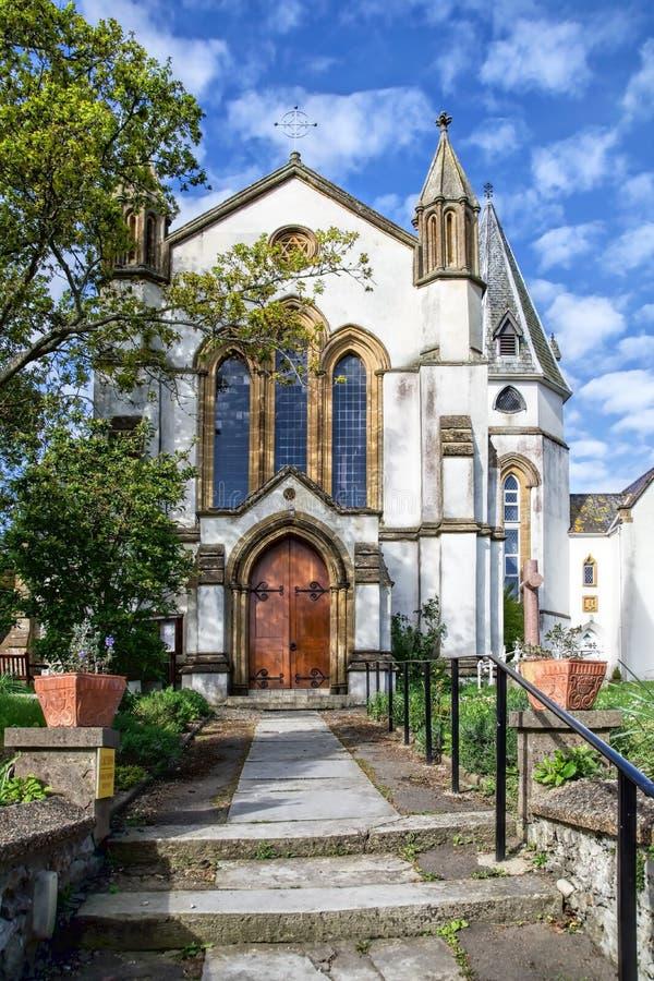 Download St Michael En St George Church - Lyme REGIS Stock Afbeelding - Afbeelding bestaande uit katholiek, wolken: 54076807