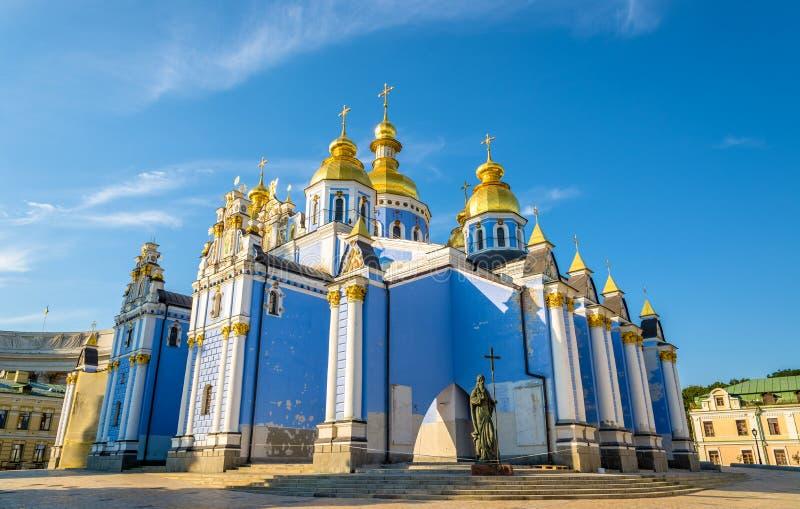 St Michael Golden-Domed Monastery a Kiev fotografia stock