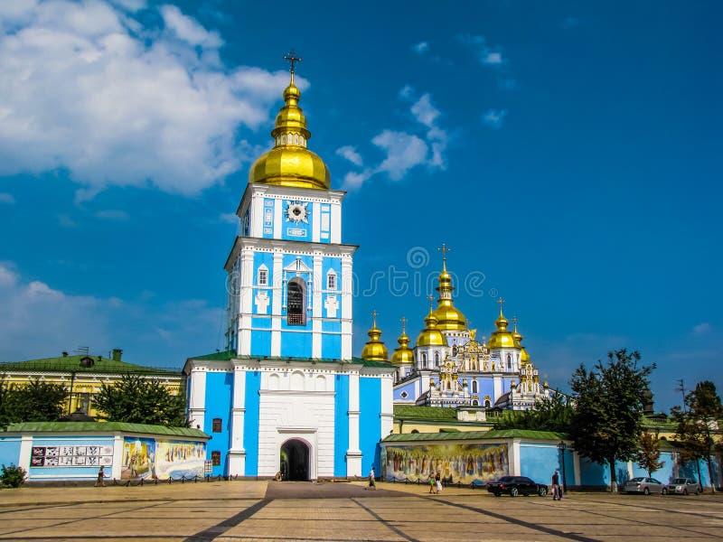 St Michael Golden-Domed Monastery a Kiev, Ucraina immagini stock