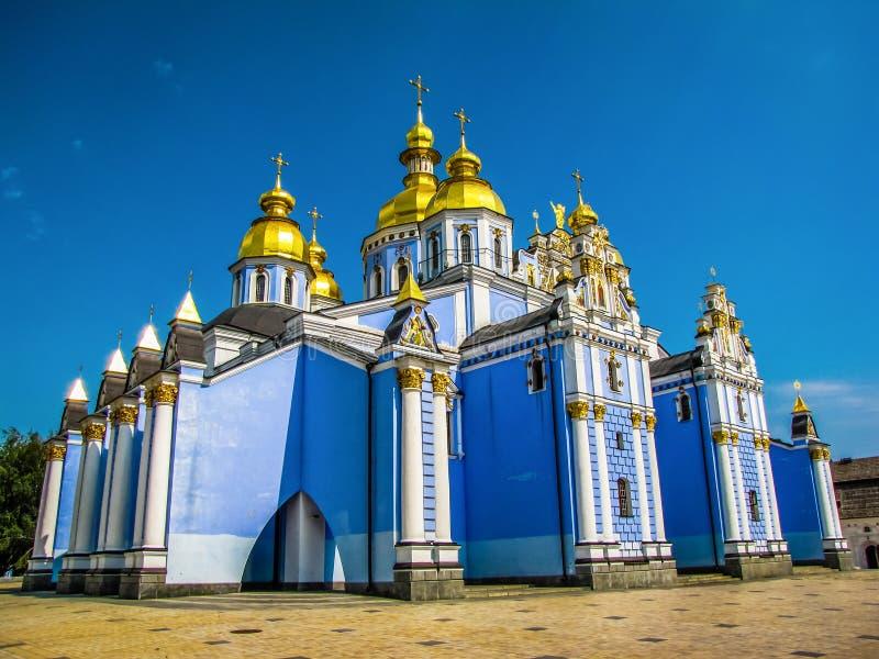 St Michael Golden-Domed Monastery a Kiev, Ucraina fotografia stock libera da diritti