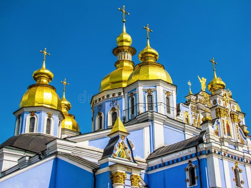 St Michael Golden-Domed Monastery a Kiev, Ucraina fotografia stock