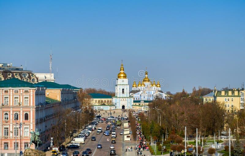 St Michael Golden-Domed Monastery Kiev Ukraine immagini stock