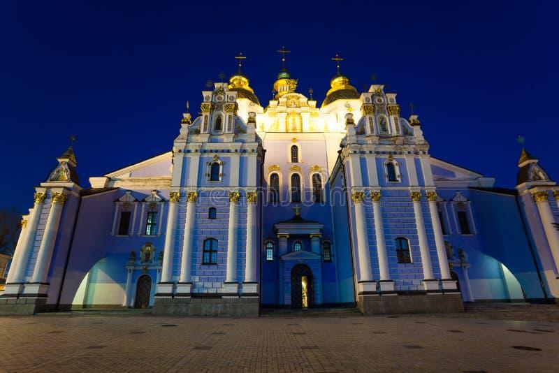 St Michael gouden-Overkoepeld Klooster, Kiev royalty-vrije stock afbeelding