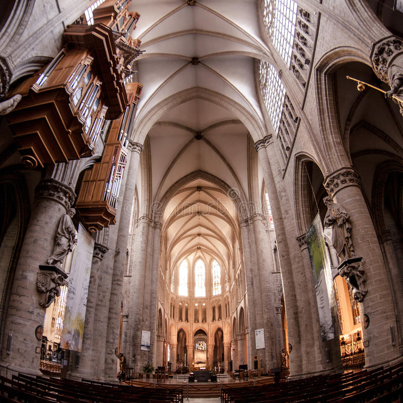 st michael gudula собора стоковая фотография