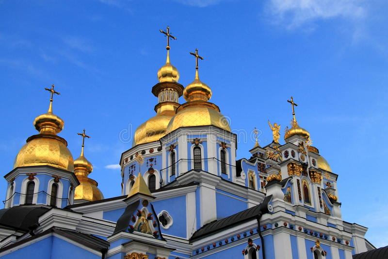 St Michael katedra w wieczór zdjęcie stock