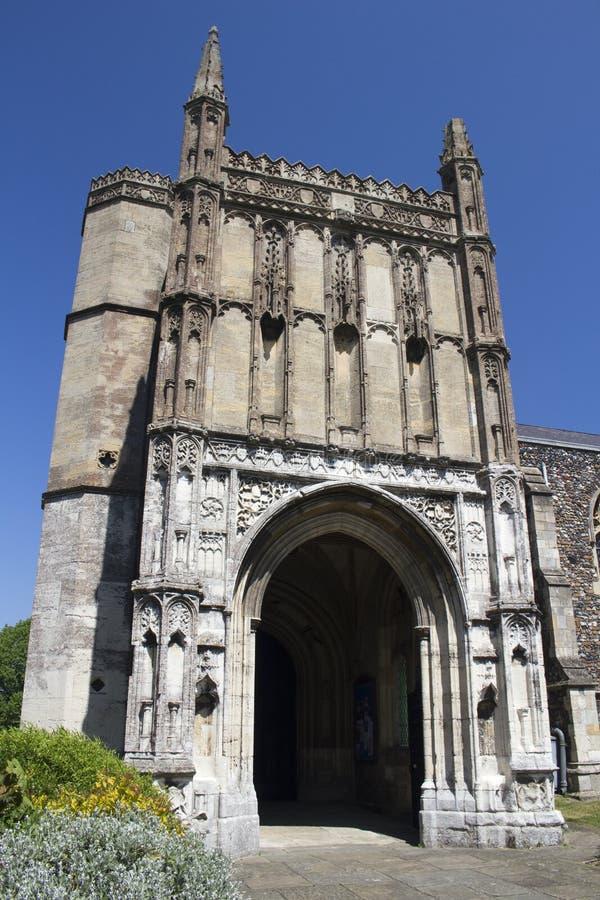 St Michael kościół, Beccles, Suffolk, Anglia zdjęcia royalty free