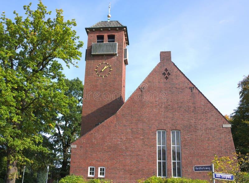 St Michael kościół Hamburg, Niemcy - - II - zdjęcia royalty free