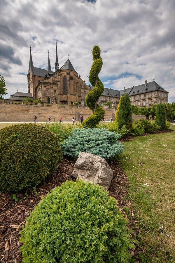 St Michael kościół w Bamberg zdjęcia stock