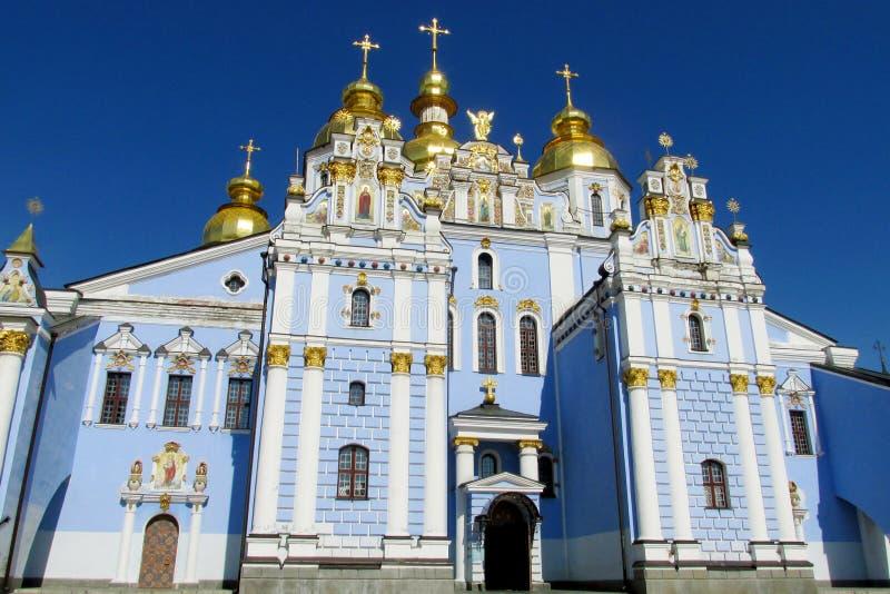 St Michael kyrka, Kiev< Ukraina arkivbild