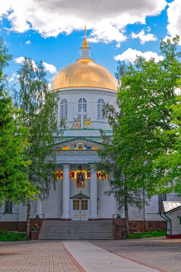 St Michael ortodox domkyrka arkivfoto
