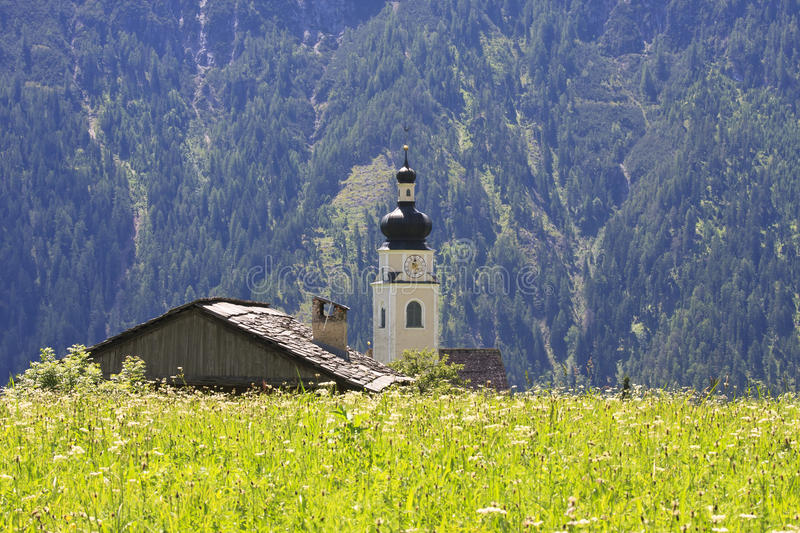 St. Michael's Church in Unterried, Austria royalty free stock photos