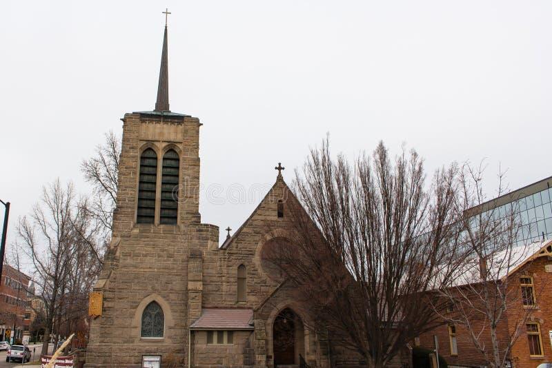 St Michael ` s is de Bisschoppelijke Kathedraal een Bisschoppelijke kathedraal in Boise, Idaho, Verenigde Staten royalty-vrije stock fotografie