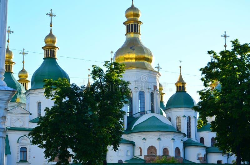 St Michael ` s Domed, Kijów zdjęcie royalty free