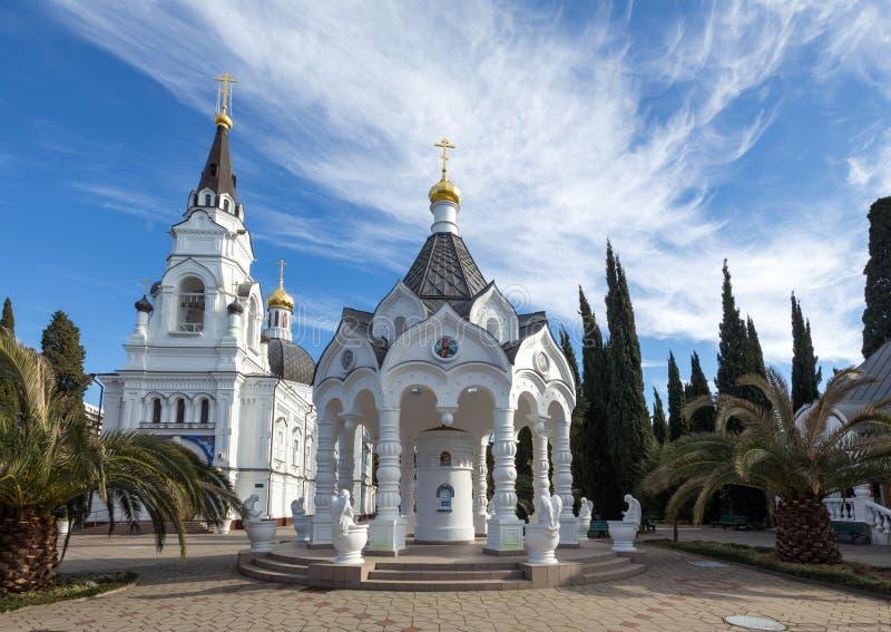 St Michael ' s-domkyrka Sochi Ryssland royaltyfria foton