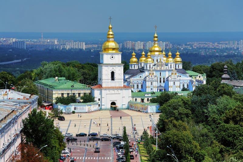 St. Michael's Golden-Domed Monastery In Kiev Editorial ...