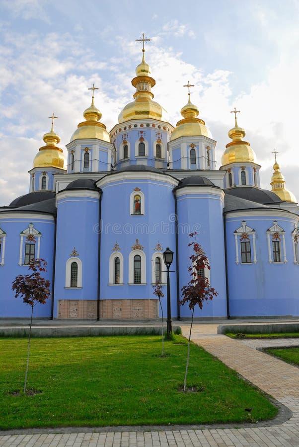 Kiev, Ukraine, Mihaylovskiy Monastery Stock Image - Image ...