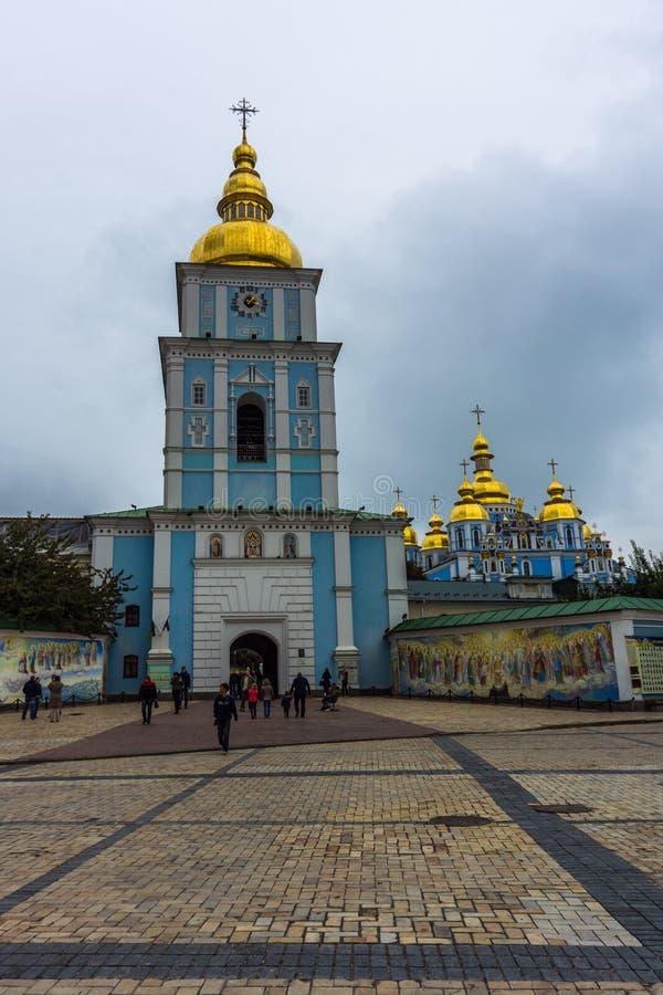Ukraine. Kiev. The Monument To Bogdan Khmelnitsky At The ...