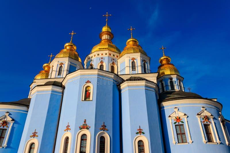 St. Michael`s Golden-Domed Monastery in Kiev, Ukraine. St. Michael`s Golden-Domed Monastery in Kiev in Ukraine stock photography