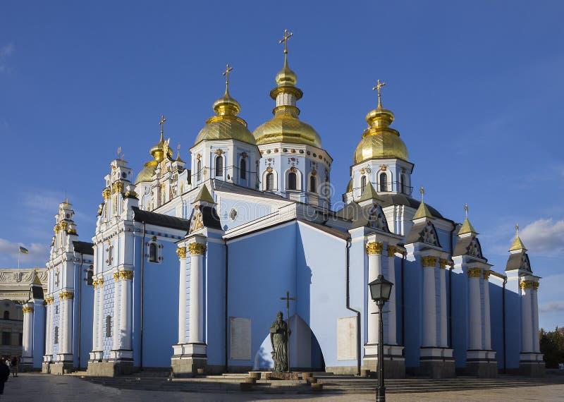 St- Michael` s Golden-gewölbtes Kloster in Kyiv, Ukraine lizenzfreies stockfoto