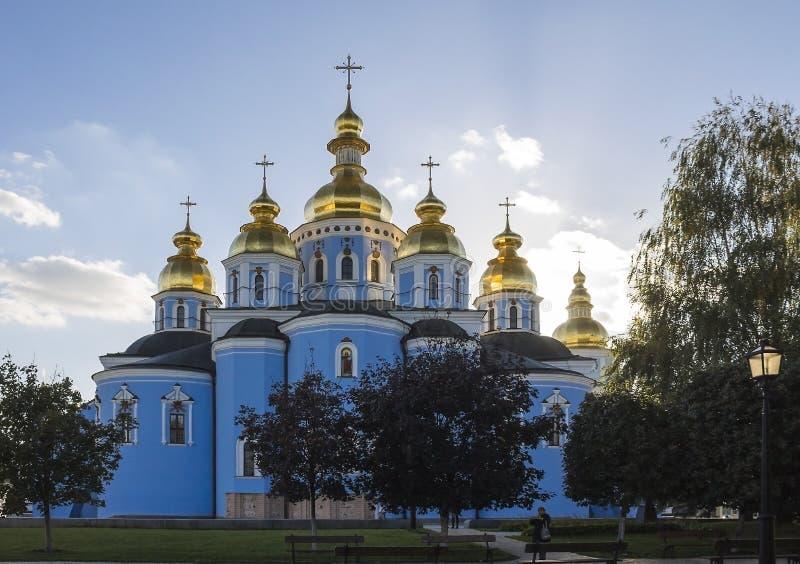 St- Michael` s Golden-gewölbtes Kloster in Kyiv, Ukraine lizenzfreie stockbilder