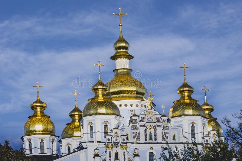 St- Michael` s Golden-gewölbtes Kloster in Kyiv, Ukraine stockfotografie