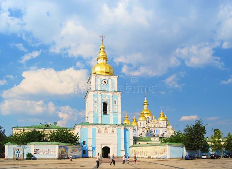 St Michael ` s gouden-Overkoepeld Klooster in Kiev, de Oekraïne royalty-vrije stock fotografie
