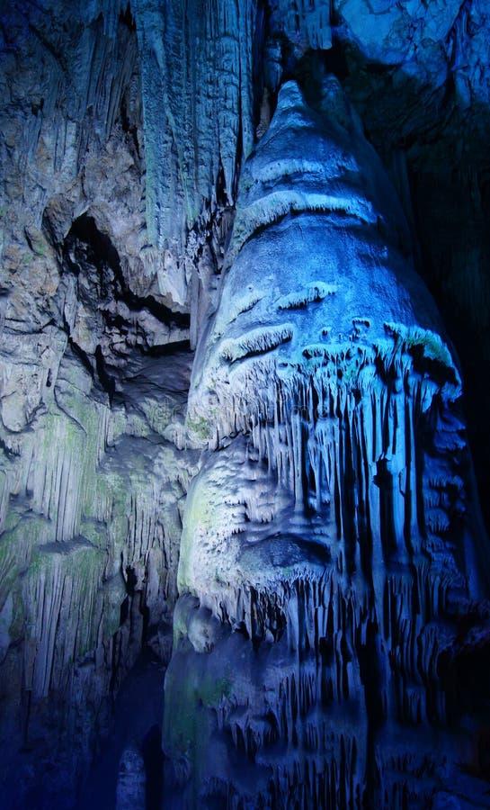 St- Michael` s Höhle in Gibraltar stockbilder