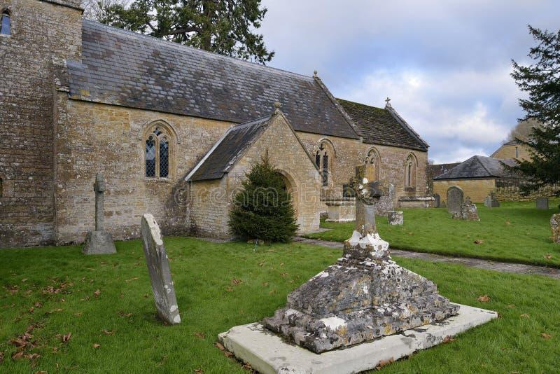 St Michael ` s kościół, Blackford zdjęcie stock