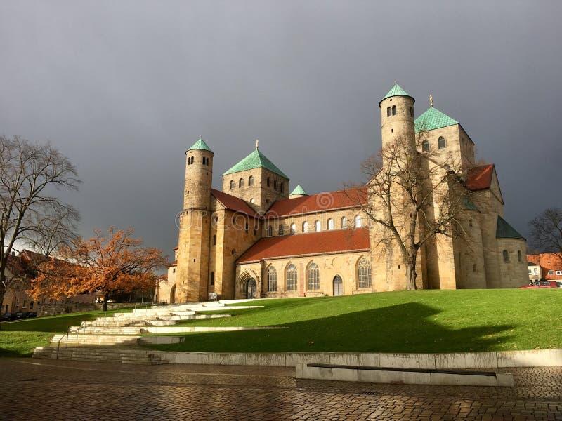 St Michael ` s kościół w Hildesheim, Niemcy zdjęcia royalty free