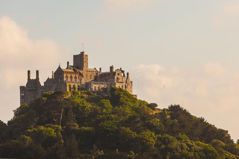 Download St.Michael's mount stock image. Image of historical, historic - 25969077