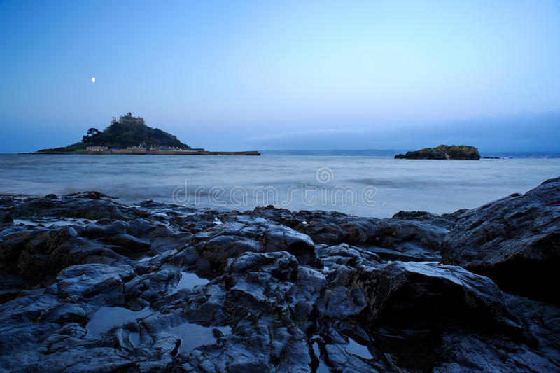 St. Michael's Mount, Cornwall stock image