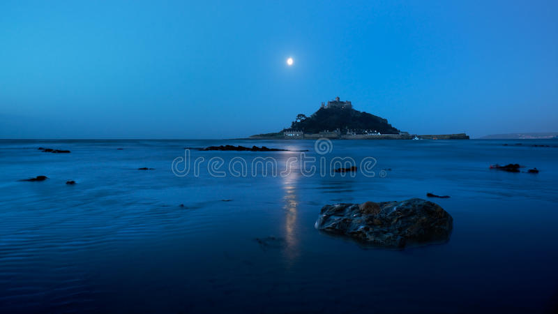 St. Michael's Mount, Cornwall, England royalty free stock photos