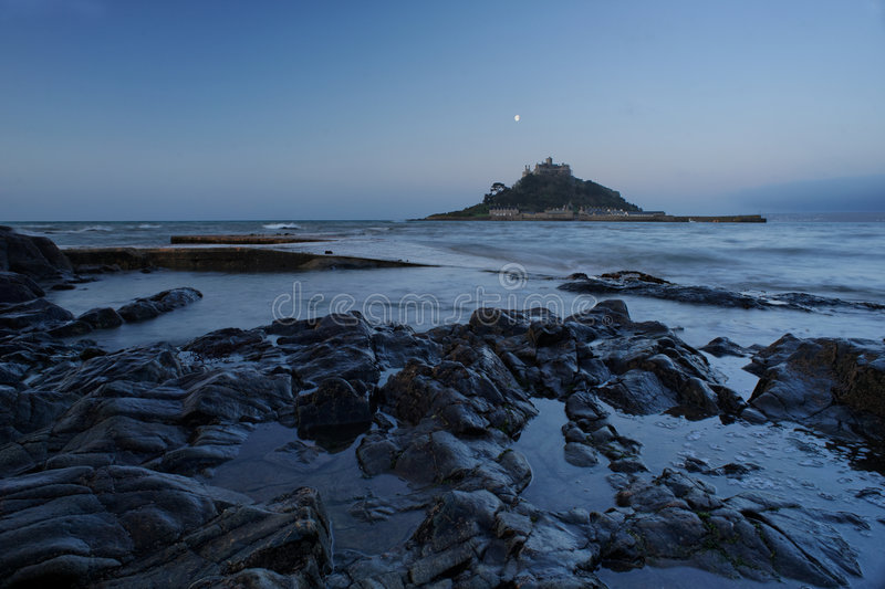 St. Michael's Mount, Cornwall, England stock photo
