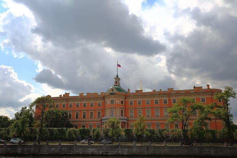 St Michael Schloss, Petersburg stockbild