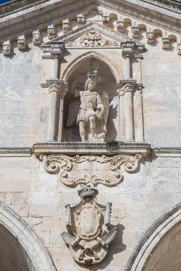 St Michael Statue royalty-vrije stock afbeelding