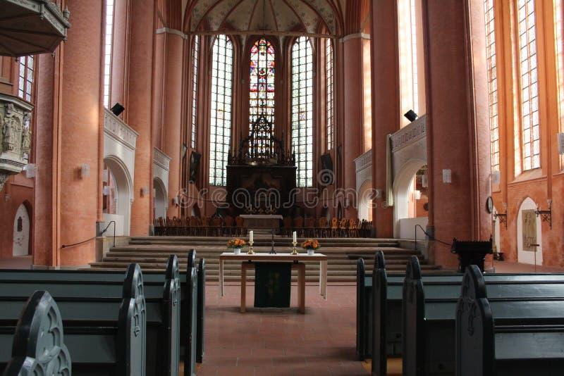 ST Michaelis Chruch Lüneburg στοκ φωτογραφία