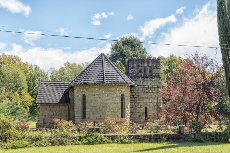 St Michaels和所有天使英国国教的教堂,在Himeville 免版税库存图片